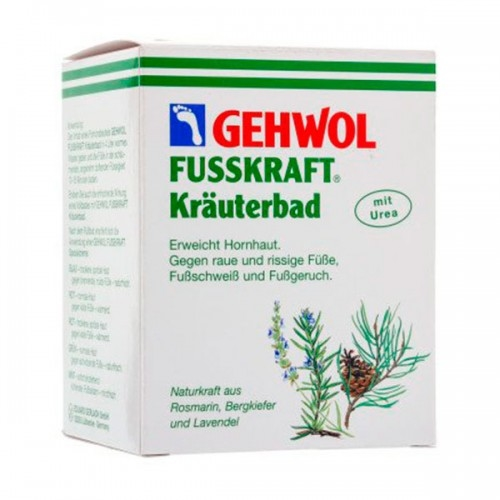 Травяная ванна Gehwol Fusskraft Herbal Bath для ног 10 шт. по 20 гр.