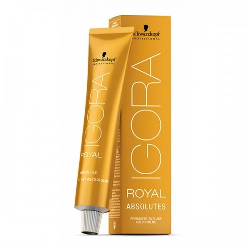 Крем-краска Schwarzkopf Professional Igora Royal Absolutes для волос 60 мл.